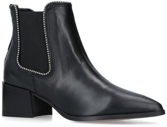 Carvela Leather Spire Ankle Boots 50