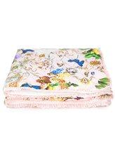 Roberto Cavalli floral padded blanket
