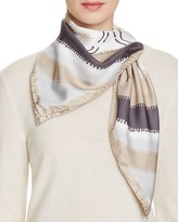 Echo Richard Allan Willa Silk Twill Scarf