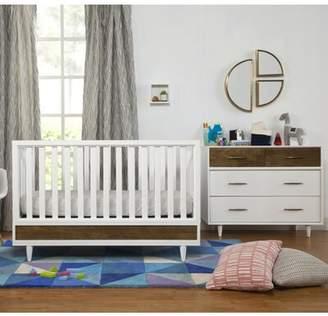 Babyletto Eero 4-in-1 Convertible Standard 2 Piece Nursery Furniture Set