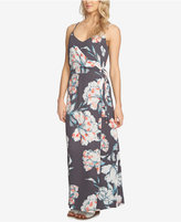 1 STATE 1.STATE Floral-Print Maxi Dress