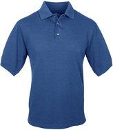 Tri-Mountain Men's Big And Tall Pique Golf Shirt