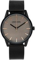 UNKNOWN The Classic Mesh Watch- Brown/Black