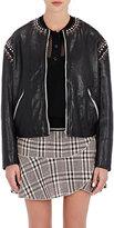 Etoile Isabel Marant Women's Buddy Studded Leather Jacket-BLACK
