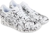 Asics Gel-Lyte III Marble Pack Mens White Black Leather Lace Up Sneakers Shoes 12