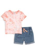 Splendid Tie Dye T-Shirt & Short Set (Baby Boys)