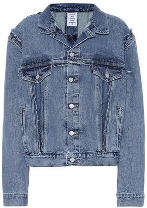 Vetements Denim jacket