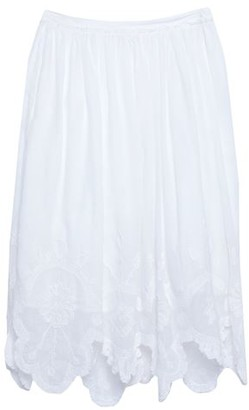 LoveShackFancy 3/4 length skirt