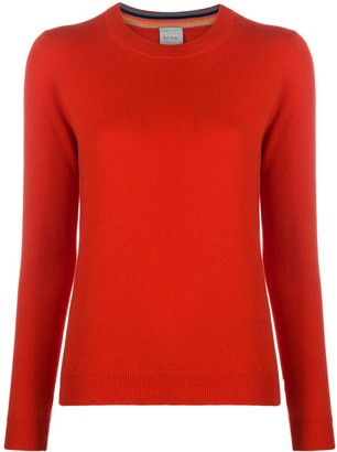 Paul Smith Round Neck Cashmere Jumper
