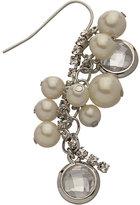 ABS Pearl Cluster Drop Earrings