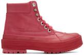 Jacquemus Pink Les Meuniers Hautes Boots