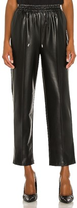JONATHAN SIMKHAI STANDARD Stretch Vegan Leather Jogger