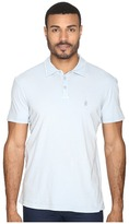 John Varvatos Soft Collar Peace Polo with Peace Sign Chest Embroidery K1381S4B