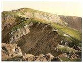 Photo: Railway,Crib Goch,Snowdon,Wales,c1895