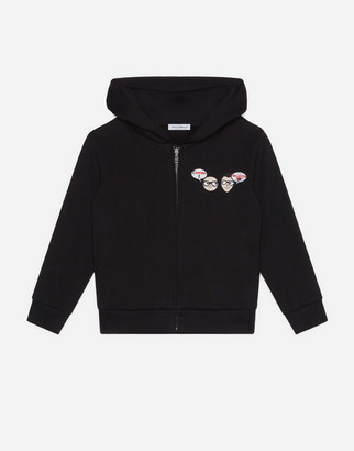 Dolce & Gabbana Family Amore Jersey Hoodie