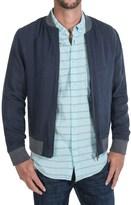 Slate & Stone Derek Linen Bomber Jacket (For Men)