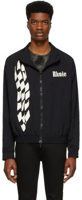 Rhude Black Track Jacket