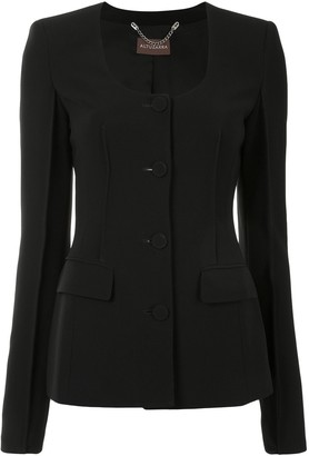 Altuzarra Tamar scoop-neck blazer