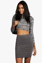 Boohoo Tall Maisy Mini Skirt
