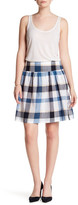 Joe Fresh Plaid Mini Skirt