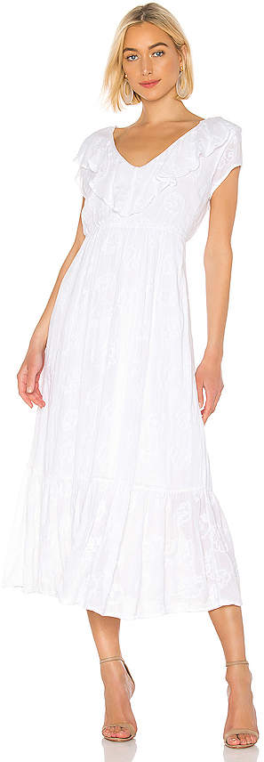 Amuse Society Tropical Morning Maxi Dress