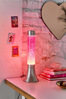 Urban Outfitters Glitter Lava Lamp