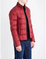 Armani Collezioni Funnel-neck Shell-down Puffer Jacket