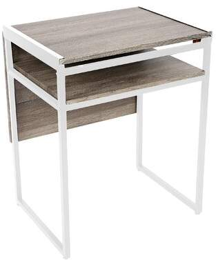 Wrought Studio Thao Small Space Desk Wrought Studio Color (Frame): White