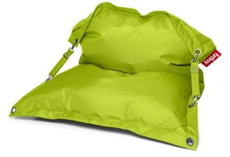 Fatboy Outdoor Friendly Large Bean Bag Chair Fabric: Lime Green