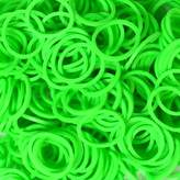 Rainbow Loom Neon Green Loom Bands