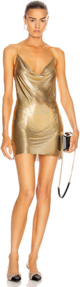 Fannie Schiavoni Zuri Dress in Gold | FWRD