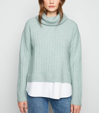 New Look 2 in 1 Roll Neck Jumper