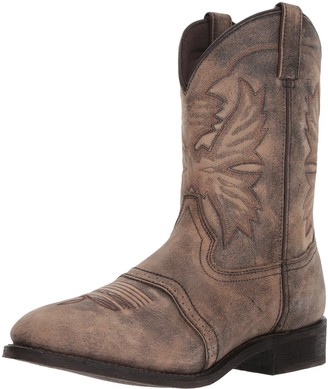 AdTec Ad Tec Mens 11 inch Western Classic Rodeo Boots Pull On Round Toe