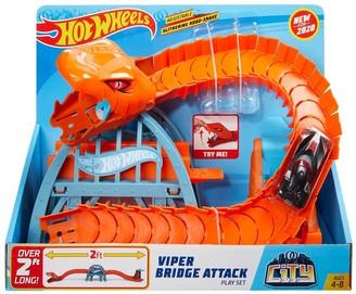 Hot Wheels Viper Bridge Attack Playset