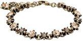 Pilgrim Pilgrim...Cute Crystal Glistening Brass Plated Link Bracelet...Length: 14 - 18cm...Brass Plated