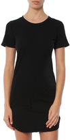 C&C California CandC California Adelise T Shirt Dress With Curved Hem