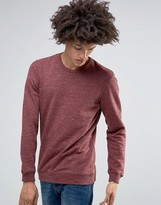 Minimum Fedel Crew Sweatshirt Melange