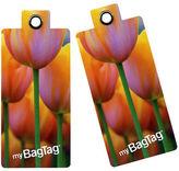 NEW MyBagTag Tulip Luggage Tag Set 2pce