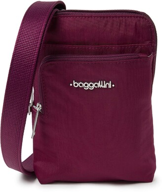 Baggallini Women's Anti-Theft Activity Crossbody Bag Cross Body