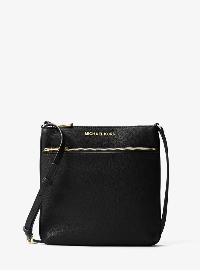 0968c73a95ca MICHAEL Michael Kors Black Messenger Handbags - ShopStyle