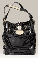 'Ring' Patent Leather Bag