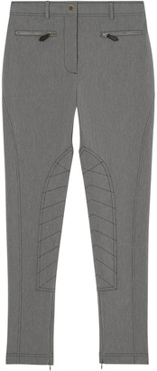 Burberry Zip Detail Trousers