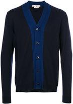 Marni two tone cardigan - men - Virgin Wool - 46