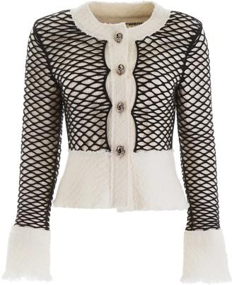 Alexander Wang Fishnet Tweed Jacket