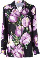 Dolce & Gabbana tulip print shirt