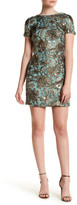 Dress the Population Metallic Floral Sequin Beverly Dress