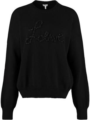 Loewe Cotton Crew-neck Sweater