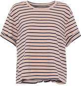 Current/Elliott The Sailor Striped Cotton-Jersey T-Shirt