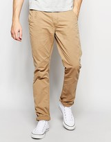 Blend of America Chinos Twister Slim Fit In Lead Gray