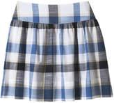 Joe Fresh Women's Madras Skirt, JF Midnight Blue (Size 6)